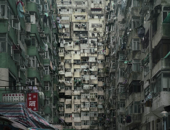 "Lost in Asia""Architecture of Density"" by Michael Wolf"